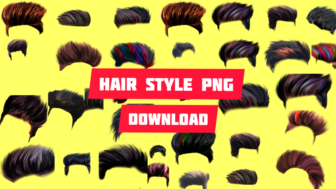 STYLISH HAIR PNG DOWNLOAD