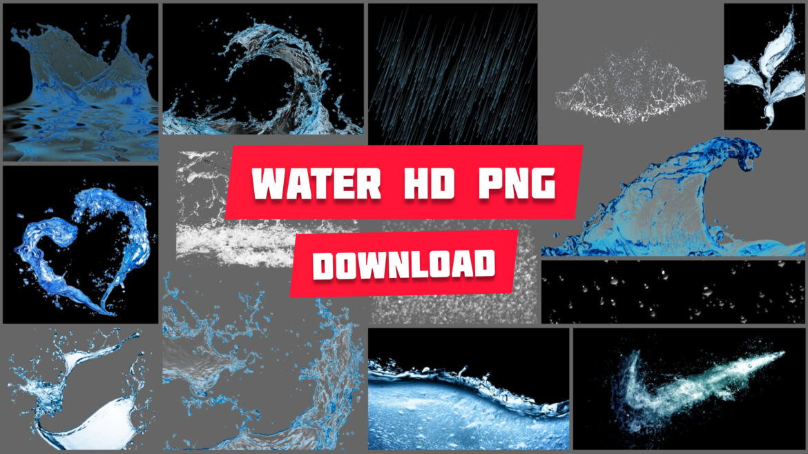 WATER PNG HD DOWNLOAD