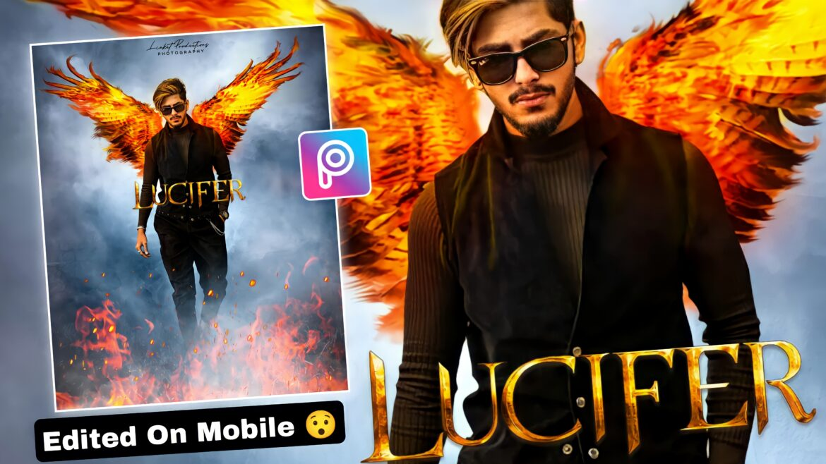 Lucifer Wings Photo Editing