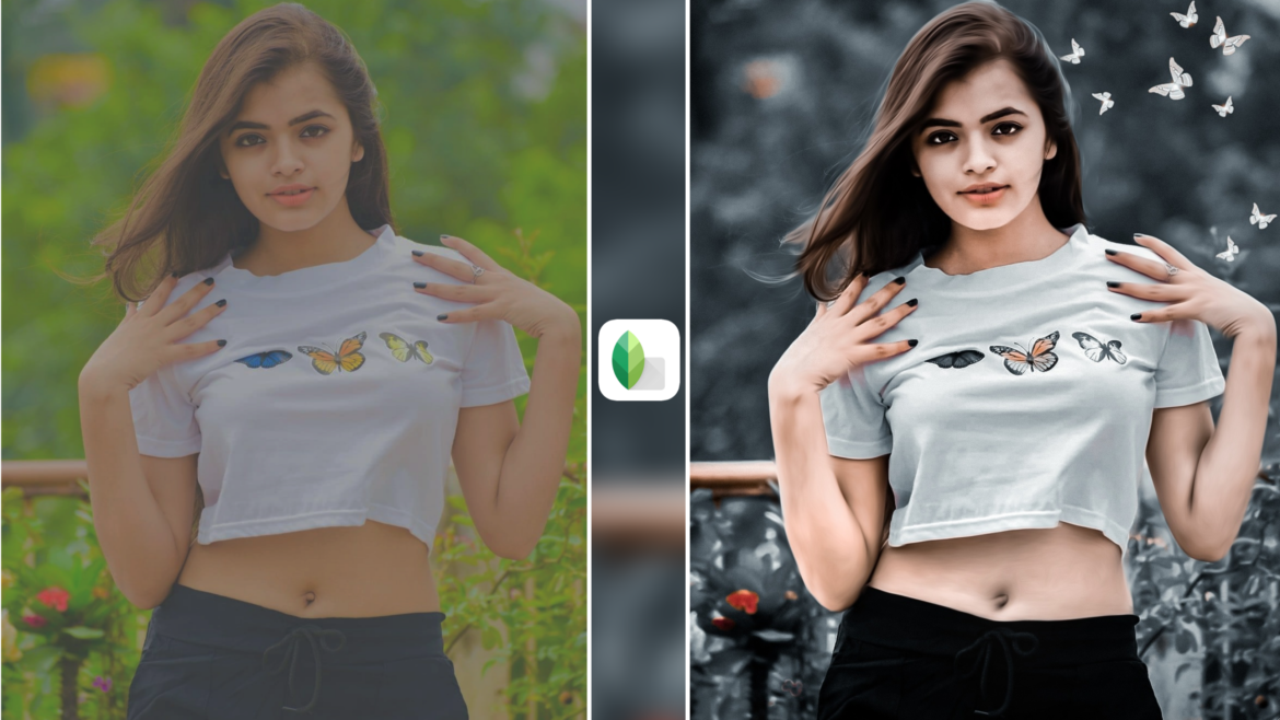 Girl Photos Snapseed Tutorial With Gray Lightroom Presets