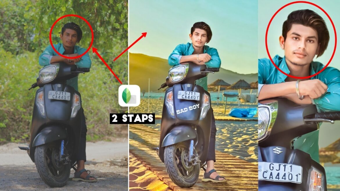 Bike Pose Photo Editing Tutorial With Presets